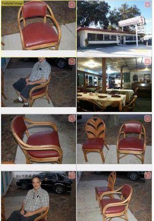 Rattan chairs vintage Calltxt3218379974 Fruitland Park Florida