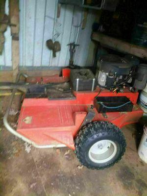 Pull behind mower