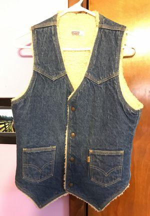 Levi fleece lined vest