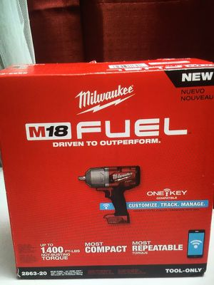 "Milwaukee FUEL ONE-KEY: New High Torque Impact Wrench 1/2"" Friction Ring Bare New Brand"
