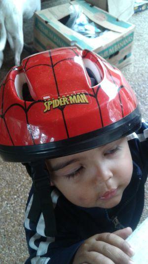 SPIDERMAN KIDS BIKE HELMET
