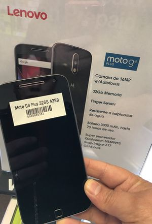 Motorola G4 Plus 32GB unlocked