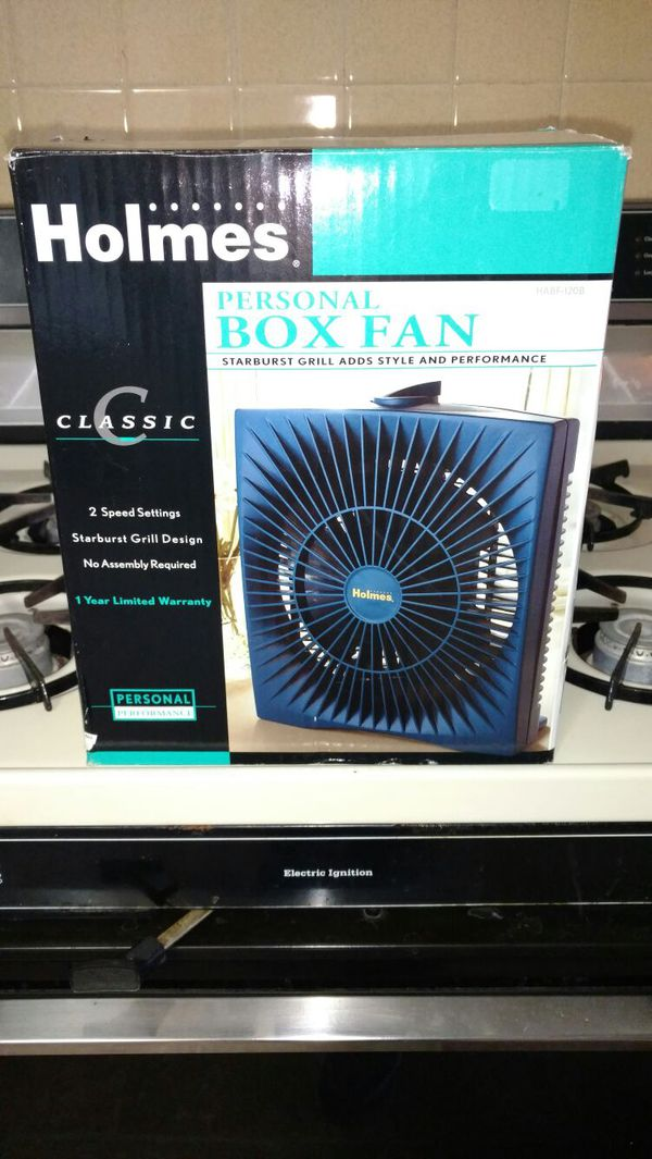 Holmes Personal Box Fan Beauty Amp Health In Saint Charles