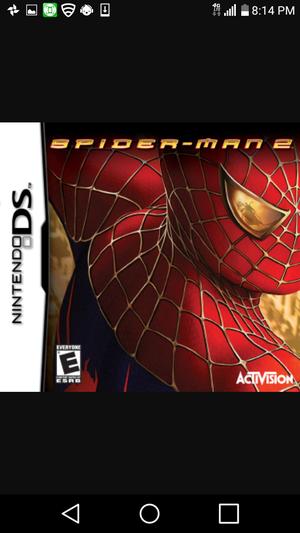Dsi spiderman 2