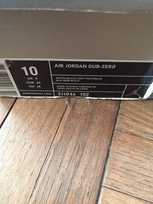 "Air Jordan Dub-Zero ""og"""