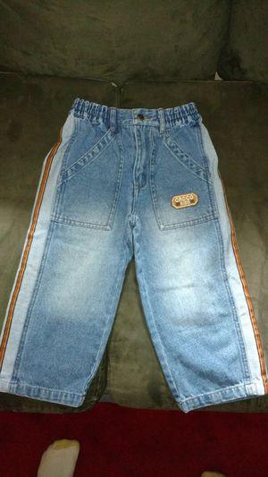Croco kid jeans