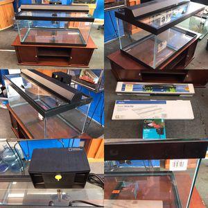 Brand new 40 gallon aquarium fish tank complete $240