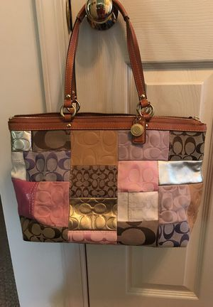 Authentic Coach Purse and Matching Wallet