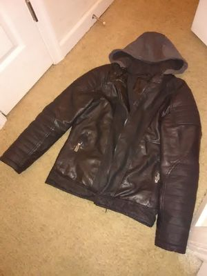 Urban Men Leather Jacket
