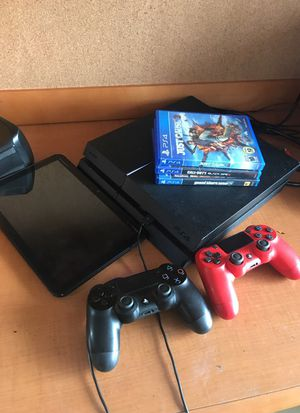 Tablet $100 PS4 1 TB $250. Price is negotiable