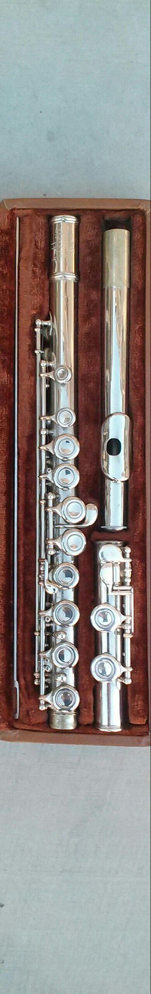 Flute and Case