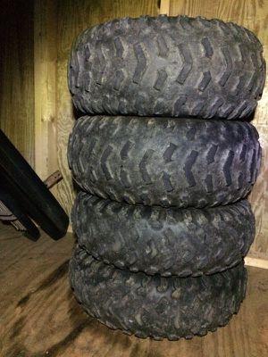 Four atv tires