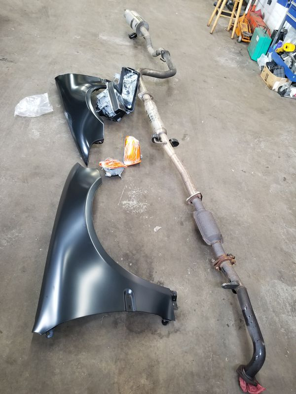 Honda civic parts 91 to 97. Have a lot of parts for sell