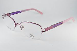 New Saks Fifth Avenue Eyeglasses Frames Violet Fantasy