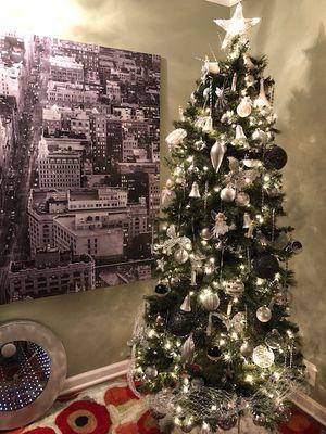Christmas Trees With lights 8'
