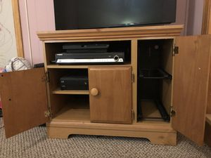 Solid wood TV/Video stand