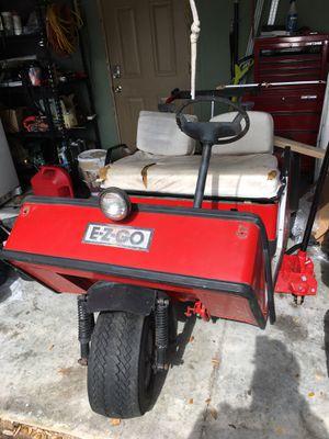 Golf cart - needs a little work