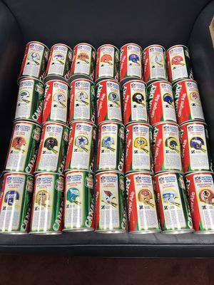 Canada Dry NFL Team Can Set includes all NFC & AFC Teams (circa 1977)! The cans are in Gem Mint Condition! There are not many of these around!