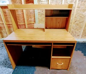 Computer Desk with drawers just got another smaller one