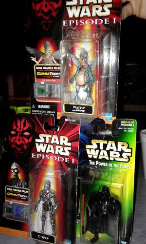 original 90's Star Wars Collectible Figures