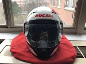 Ducati Motorcycle Tricolor Helmet Size L for $250 or Best Offer