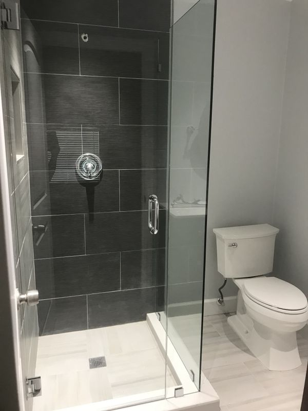 Frameless Crystal Shower Door P Sqft 38 Glass Household In
