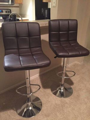 Set of 2 Chair bar stool sillas new in box