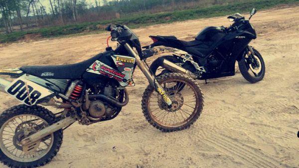 ktm 400exc (motorcycles) in houston, tx - offerup