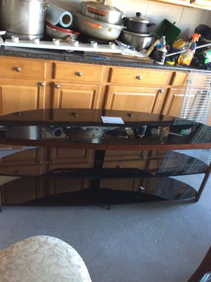 Mesa de Tv en cristal de la grande