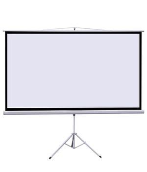 """100"""" Portable HD Projector Screen with integrated Tripp's"""