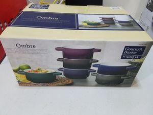 Ombre soup bowl set original unpacked