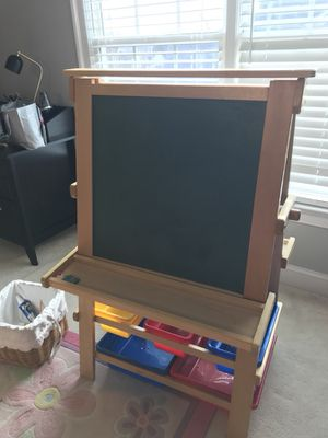 Chalk board and dry erase board- like new condition