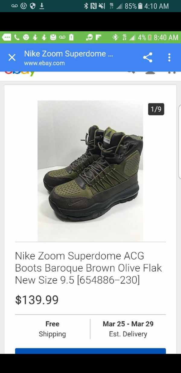 Nike superdome ach Nike boots men