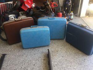 Vintage samsonite luggage suitcases suit case