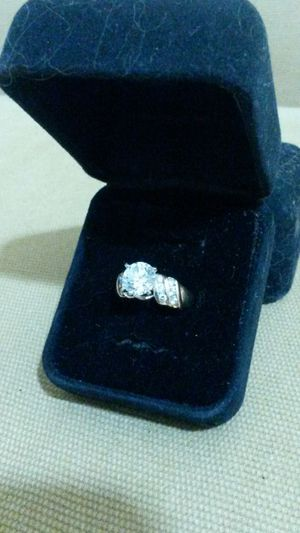 10k Solid Gold Ring w/Over 3 Carats