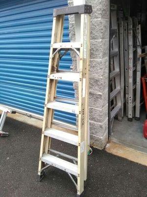 6 foot a frame ladder fiber glass 25