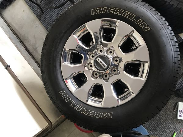 Ford f 250 f350 super duty chrome 20 wheels and tires 8 lug ford f 250 f350 super duty chrome 20 wheels and tires 8 lug michelin sciox Gallery