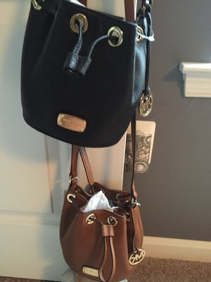 Brown MK Drawstring purse! Brand new!!