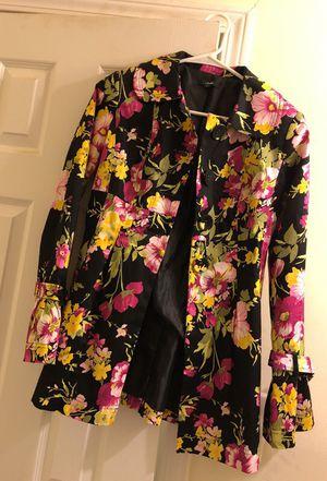 Stylish floral jacket