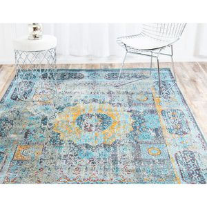 Cueva Blue/Yellow Area Rug