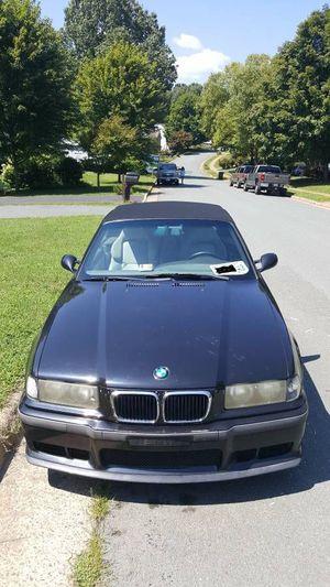 1999 BMW E36 M3 Cabrio Black w/ grey leather ,18s FAST RELIABLE FUN !! - $4200