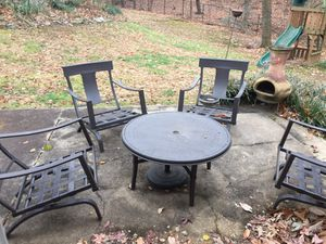 Patio Set w/ cushions. Barely used.
