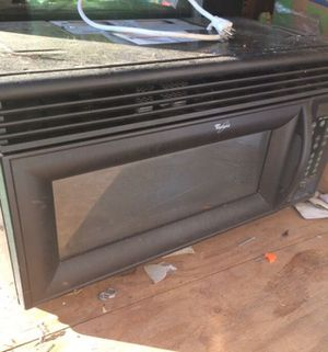Whirlpool Microwave Dish washer and Stove Oven