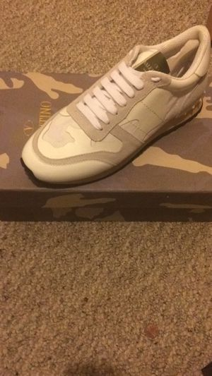 Brand New white Valentino size 44 Male which is size 10.5 USA
