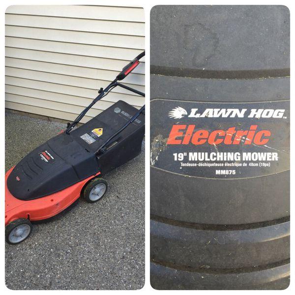 black and decker lawn hog electric 19 mulching mower manual