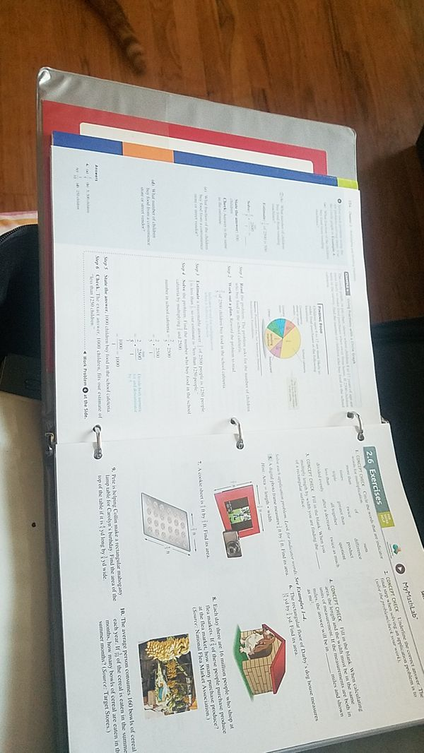 Basic College Math Pkg Sdcc (Math 034/Fa.13)Lial 9 edition (Cell ...