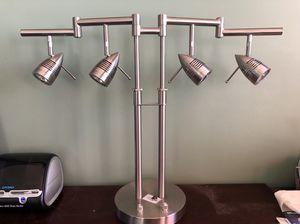 Four Light Bullet Head Desk Lamp