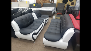 Brand new 3-piece sofa loveseat and chair 3 complete living room set