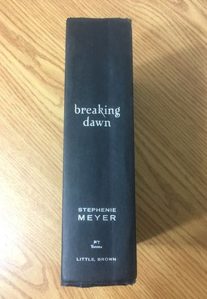 Stephenie Meyer Twilight Breaking Dawn