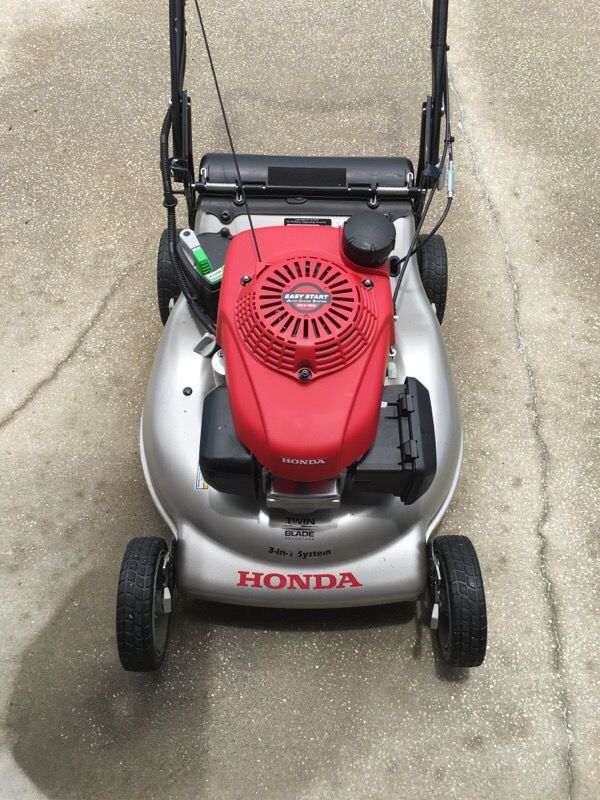 brand new honda lawn mower for sale home garden in odessa fl offerup. Black Bedroom Furniture Sets. Home Design Ideas
